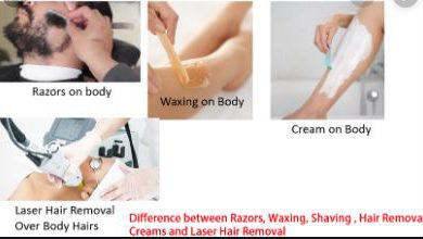 Difference Between Hair Removal and Shaving