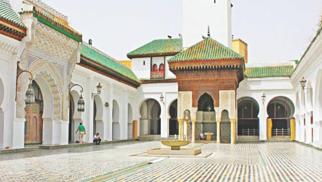 First university by a princess named Fatima al-Fihri in Morocco