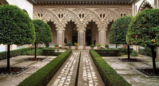 Aljaferia palace zaragoza spain (1065-1081)